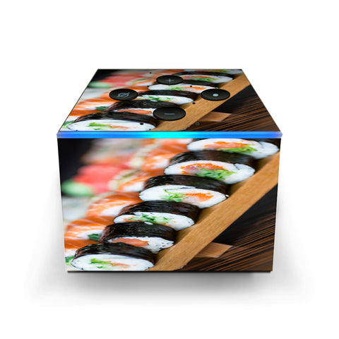 Sushi California Roll Japanese Food  Amazon Fire TV Cube Skin