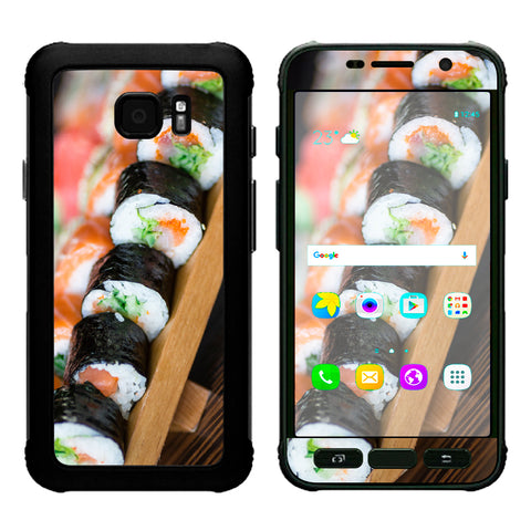 Sushi California Roll Japanese Food  Samsung Galaxy S7 Active Skin