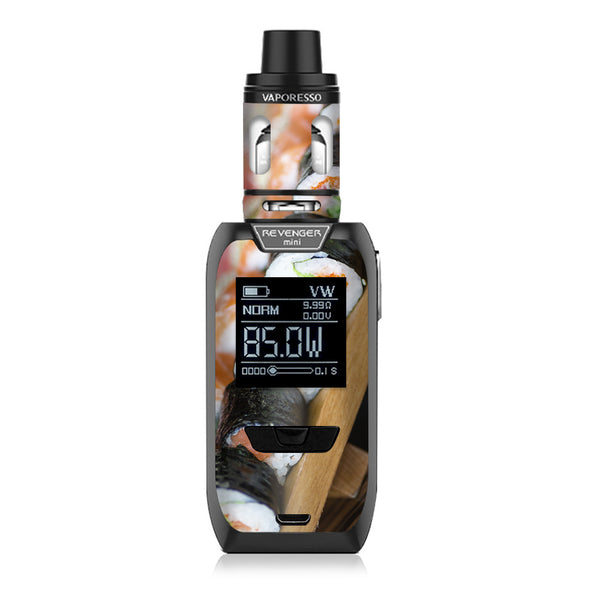 Sushi California Roll Japanese Food  Vaporesso Revenger Mini 85w Skin