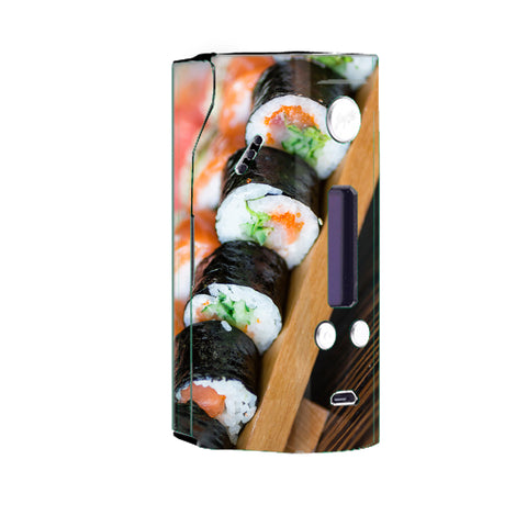 Sushi California Roll Japanese Food  Wismec Reuleaux RX200 Skin