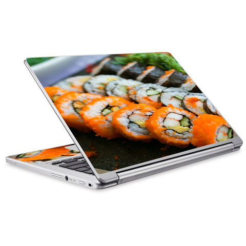 Sushi Rolls Eat Foodie Japanese Acer Chromebook R13 Skin