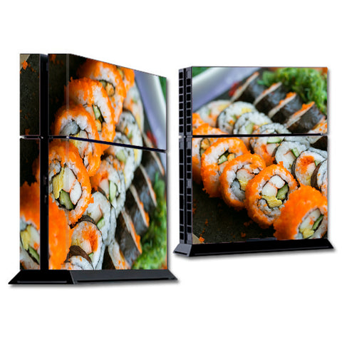 Sushi Rolls Eat Foodie Japanese Sony Playstation PS4 Skin