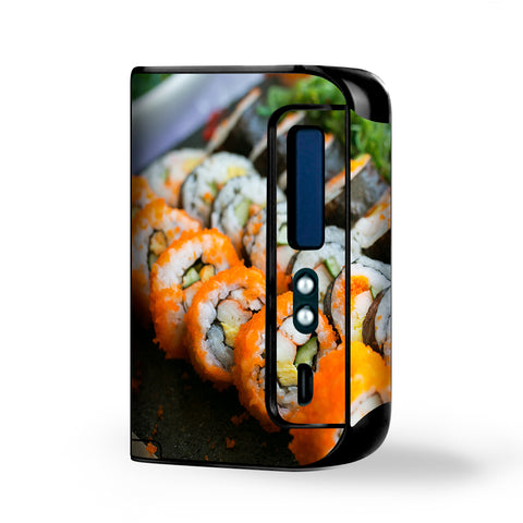 Sushi Rolls Eat Foodie Japanese Smok Osub King Skin
