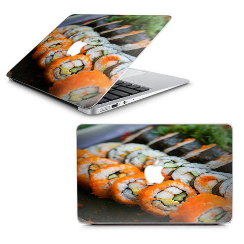 "Sushi Rolls Eat Foodie Japanese Macbook Air 13"" A1369 A1466 Skin"