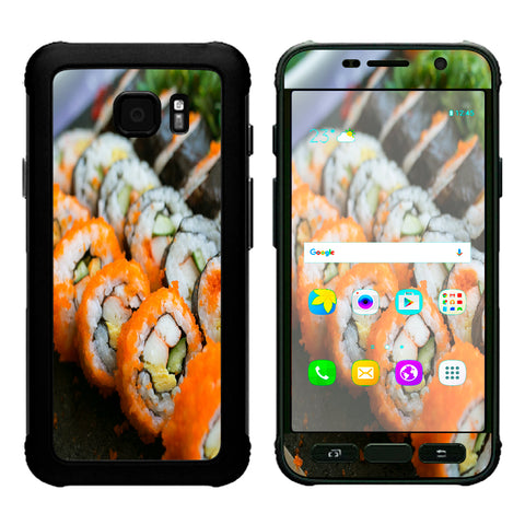 Sushi Rolls Eat Foodie Japanese Samsung Galaxy S7 Active Skin