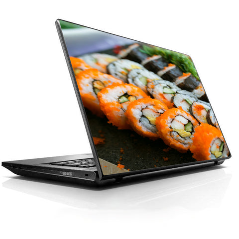 Sushi Rolls Eat Foodie Japanese HP Dell Compaq Mac Asus Acer 13 to 16 inch Skin