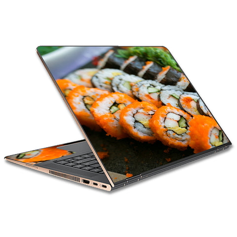 Sushi Rolls Eat Foodie Japanese HP Spectre x360 15t Skin
