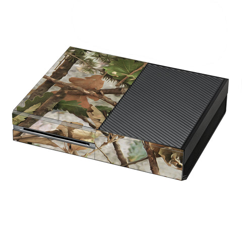 Tree Camo Real Oak Microsoft Xbox One Skin