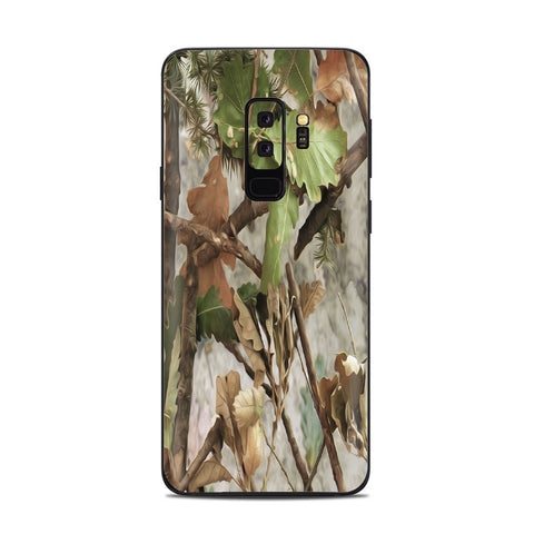 Tree Camo Real Oak Samsung Galaxy S9 Plus Skin