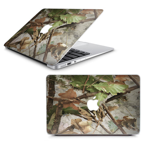 "Tree Camo Real Oak Macbook Air 13"" A1369 A1466 Skin"