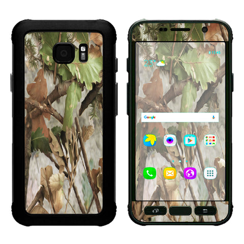 Tree Camo Real Oak Samsung Galaxy S7 Active Skin