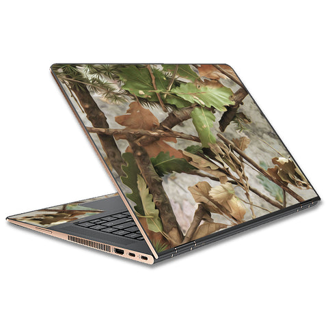 Tree Camo Real Oak HP Spectre x360 15t Skin