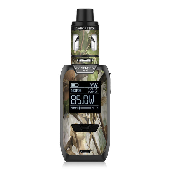 Tree Camo Real Oak Vaporesso Revenger Mini 85w Skin