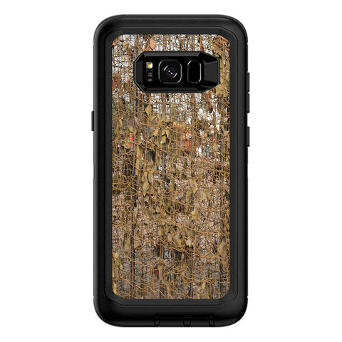 Tree Camo Net Camouflage Military Otterbox Defender Samsung Galaxy S8 Plus Skin