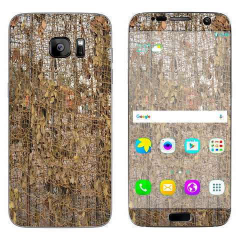 Tree Camo Net Camouflage Military Samsung Galaxy S7 Edge Skin