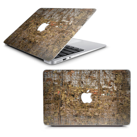 "Tree Camo Net Camouflage Military Macbook Air 13"" A1369 A1466 Skin"