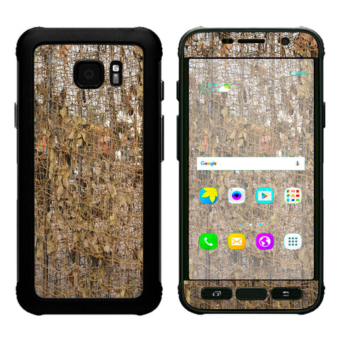 Tree Camo Net Camouflage Military Samsung Galaxy S7 Active Skin