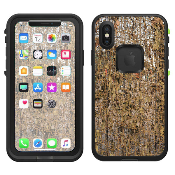 check out 3fe97 0bf09 Tree Camo Net Camouflage Military Lifeproof Fre Case iPhone X Skin