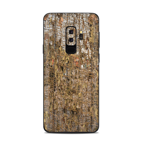 Tree Camo Net Camouflage Military Samsung Galaxy S9 Plus Skin