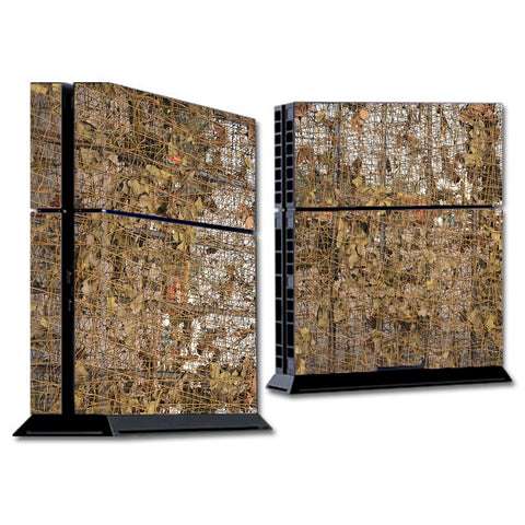 Tree Camo Net Camouflage Military Sony Playstation PS4 Skin