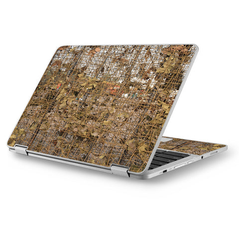 "Tree Camo Net Camouflage Military Asus Chromebook Flip 12.5"" Skin"