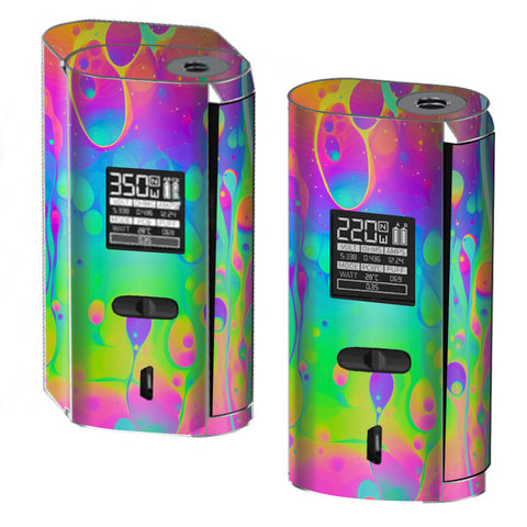 Trippy Tie Die Colors Dripping Lava Smok GX2/4 Skin