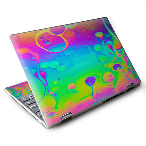 "Trippy Tie Die Colors Dripping Lava Lenovo Yoga 710 11.6"" Skin"