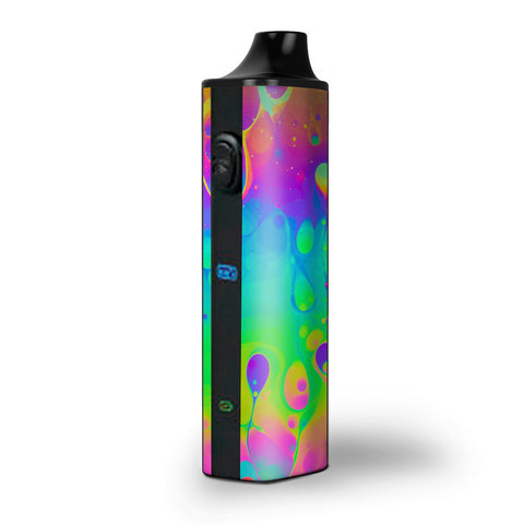 Trippy Tie Die Colors Dripping Lava Pulsar APX Skin