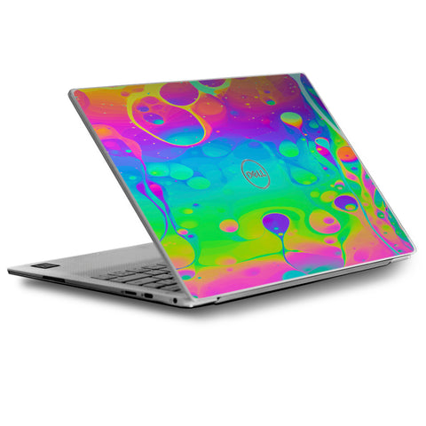 Trippy Tie Die Colors Dripping Lava Dell XPS 13 9370 9360 9350 Skin