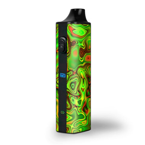 Green Glass Trippy Psychedelic Pulsar APX Skin