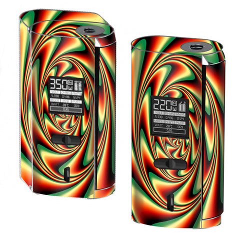 Trippy Motion Moving Swirl Illusion Smok GX2/4 Skin