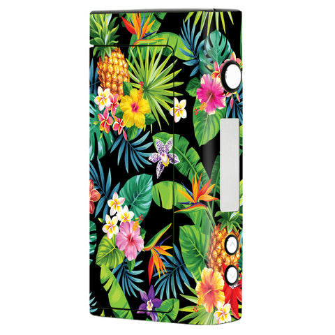Tropical Flowers Pineapple Hibiscus Hawaii Sigelei Fuchai 200W Skin