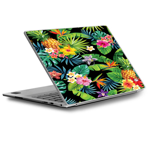 Tropical Flowers Pineapple Hibiscus Hawaii Dell XPS 13 9370 9360 9350 Skin