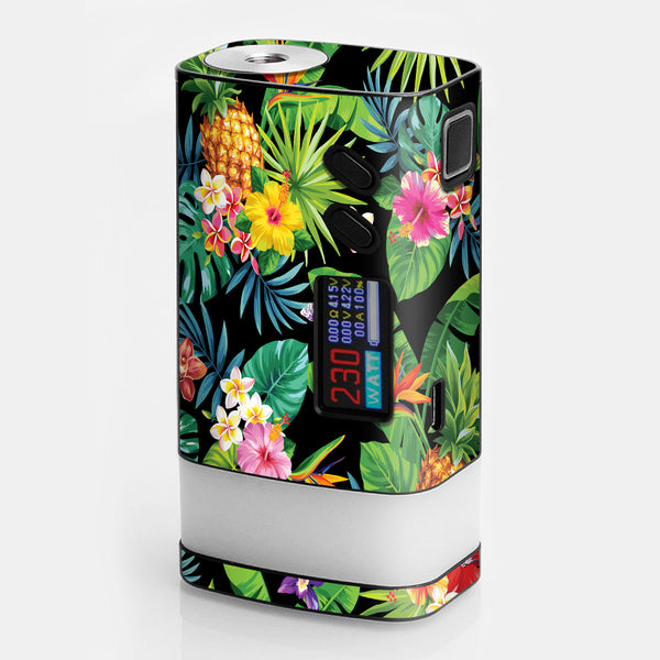 Tropical Flowers Pineapple Hibiscus Hawaii Sigelei Fuchai Glo 230w Skin