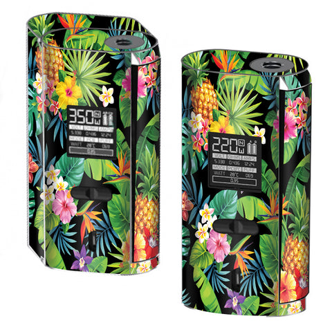Tropical Flowers Pineapple Hibiscus Hawaii Smok GX2/4 Skin