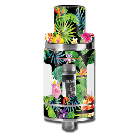 Tropical Flowers Pineapple Hibiscus Hawaii Smok TFV8 Micro Baby Beast  Skin