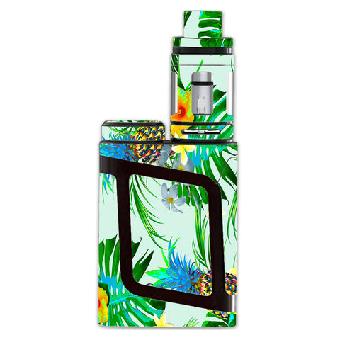Tropical Floral Pattern Pineapple Palm Trees Smok AL85 Skin