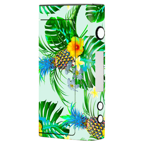 Tropical Floral Pattern Pineapple Palm Trees Sigelei Fuchai 200W Skin