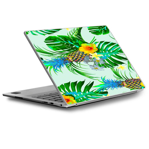 Tropical Floral Pattern Pineapple Palm Trees Dell XPS 13 9370 9360 9350 Skin