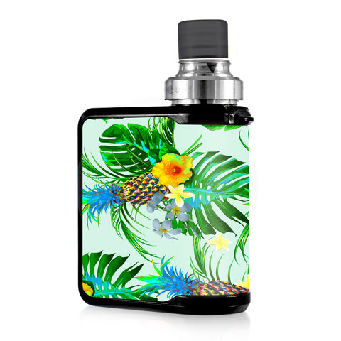 Tropical Floral Pattern Pineapple Palm Trees Mvape Mi-One Skin