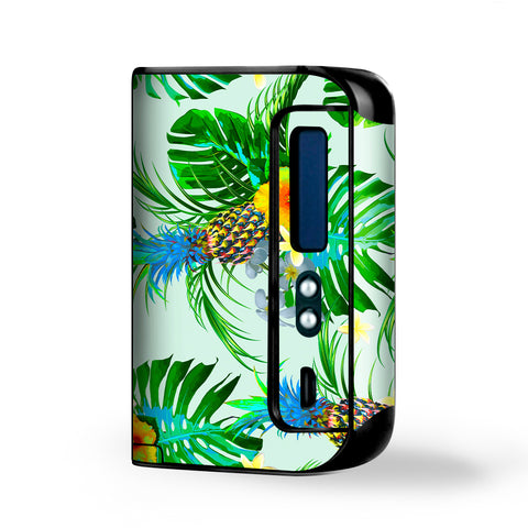 Tropical Floral Pattern Pineapple Palm Trees Smok Osub King Skin