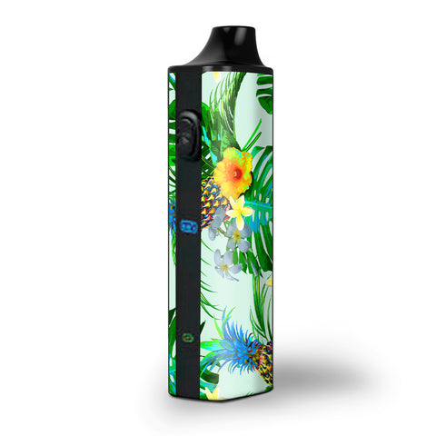 Tropical Floral Pattern Pineapple Palm Trees Pulsar APX Skin