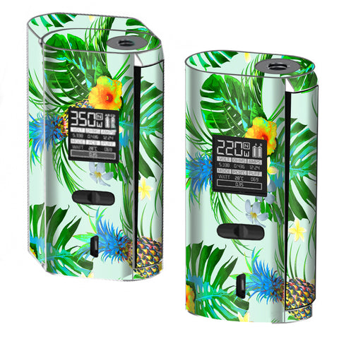 Tropical Floral Pattern Pineapple Palm Trees Smok GX2/4 Skin