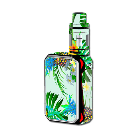Tropical Floral Pattern Pineapple Palm Trees Smok G-Priv Skin