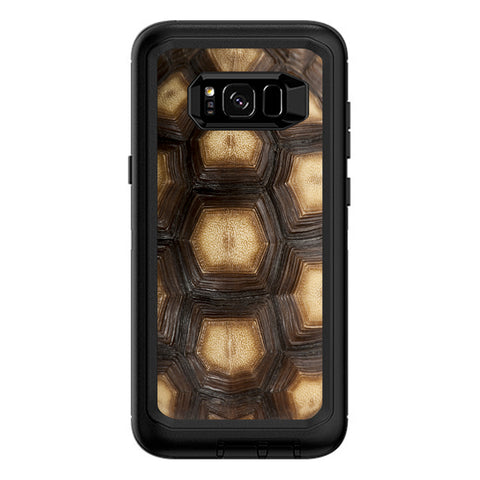 Turtle Shell Sea Desert Tortoise  Otterbox Defender Samsung Galaxy S8 Plus Skin
