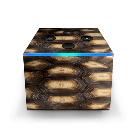 Turtle Shell Sea Desert Tortoise  Amazon Fire TV Cube Skin