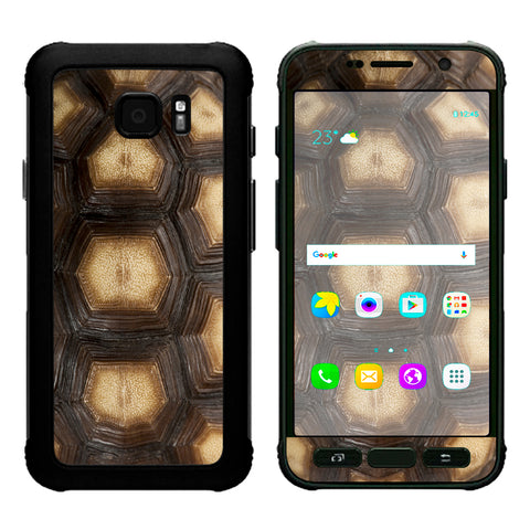 Turtle Shell Sea Desert Tortoise  Samsung Galaxy S7 Active Skin