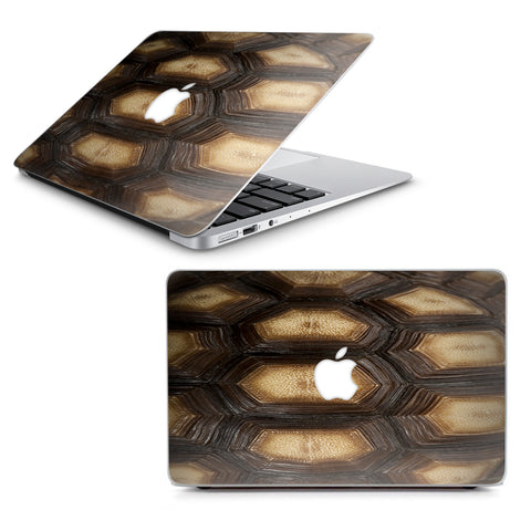 "Turtle Shell Sea Desert Tortoise  Macbook Air 13"" A1369 A1466 Skin"