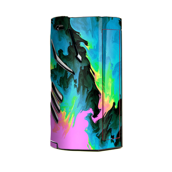 Water Colors Trippy Abstract Pastel Preppy T-Priv 3 Smok Skin