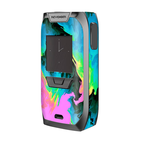 Water Colors Trippy Abstract Pastel Preppy Vaporesso Revenger Skin